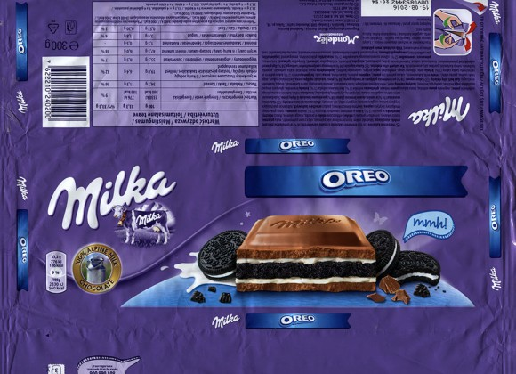 Milka, Alpine milk chocolate with Oreo bicuit filled, 300g, 19.08.2015, Mondelez International, Mondelez Oesterreich Production GmbH, Bludenz, Austria