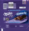 Milka, milk chocolate with Oreo biscuit pieces, 100g, 15.06.2015, Mondelez Polska Production sp.z.o.o., Kobierzyce, Poland