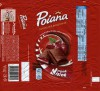 Poiana, milk chocolate filled with milk cream with cherry flavor and sour cream, 100g, 2014, Mondelez Romania S.A., Bucuresti, Romania
