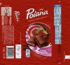 Poiana, milk chocolate filled with milk cream with raspberry flavor and sour cream, 100g, 16.07.2014, Mondelez Romania S.A., Bucuresti, Romania