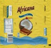 Africana, milk chocolate with coconut, 90g, 03.08.2014, Mondelez Romania S.A., Bucuresti, Romania