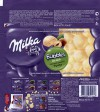 Milka, aerated white chocolate with nuts, 83g, 2015, Mondelez International, Mondelez Rus, Pokrov, Russia