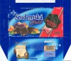 Dark chocolate with raisins, peanuts and jelly pieces, 200g, 09.2003, 