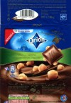 Orion, milk chocolate with whole nuts, 80g, 12.2009, Nestle Cesko s.r.o, Praha, Czech Republic