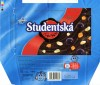 Studentska pecet, dark chocolate with raisins, peanuts and jelly pieces, 200g, 11.2007, Nestle Cesko s.r.o, Praha, Czech Republic