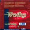 Troika, dark chocolate marzipan, truffle and jelly filling, 66g, 08.11.2006, Nidar AS, Trondheim, Norway