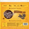 Riisisuklaa, milk chocolate and puffed rice, 130g, 21.04.2017, Oy Panda AB, Vaajakoski, Finland