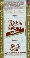 Ritter sport, joghurt, milk chocolate, Alfred Ritter GmbH & Co. Waldenbuch, Germany