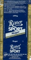 Ritter sport, nugat, milk chocolate, Alfred Ritter GmbH & Co. Waldenbuch, Germany