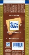 Ritter sport, knusperkeks, milk chocolate with bisquit, Alfred Ritter GmbH & Co. Waldenbuch, Germany