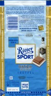 Ritter sport, milk chocolate with liquor filled, 100g, 06.2006, Alfred Ritter GmbH & Co. Waldenbuch, Germany