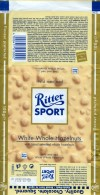 Ritter sport, white chocolate with whole hazelnuts, 100g, 20.03.2009, Alfred Ritter GmbH & Co. Waldenbuch, Germany