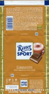 Ritter sport, milk chocolate with a capuccino cream filling, 100g, 19.03.2009, Alfred Ritter GmbH & Co. Waldenbuch, Germany