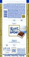 Ritter sport, filled milk chocolate with skimmed yogurt cream, 100g, 20.05.2009, Alfred Ritter GmbH & Co. Waldenbuch, Germany