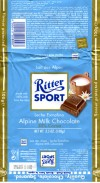 Ritter sport, milk chocolate, 100g, 2008, Alfred Ritter GmbH & Co. Waldenbuch, Germany