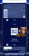 Ritter sport, milk chocolate with praline filling, 100g, 11.08.2010, Alfred Ritter GmbH & Co. Waldenbuch, Germany