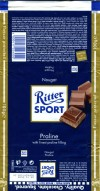 Ritter sport, Praline, milk chocolate with praline filling, 100g, 24.10.2008, Alfred Ritter GmbH & Co. Waldenbuch, Germany