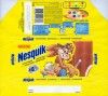 "Nesquik, milk chocolate with milk flavoured cream, 100g, 13.11.2008, OAO Konditerskoje objedinenije ""Rossija"", Samara, Russia"