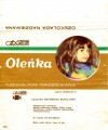 Olenka, filed chocolate, 100g, about 1980, Spolem, Poland