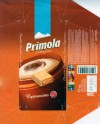 Primola, cappuccino, white chocolate with cappuccino cream, 100g, 22.06.2005, Supreme chocolat S.R.L, Bucharest, Romania