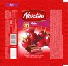 Novatini Visine, tablet with sourcherry liquer, 100g, 27.10.2011, Supreme Chocolat S.R.L., Bucharest, Romania