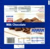 Milk chocolate, 100g, 06.2012, produced in U.K. for Tesco Stores Ltd., Cheshund, United Kingdom