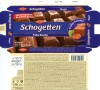 Schogetten Praline Noisettes, filled milk chocolate with nougat filling, 100g, 11.05.2010, Trumpf Schokoladenfabrik GmbH, Saarlouis, Germany