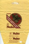 Nuko, nougat filled chocolate, 68g, about 1980, Tuzex, Olomouc, Czech Republic