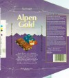 Alpen Gold, milk chocolate with raisins and nuts, 100g, 12.1994