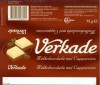 Milk chocolate with cappuccino, 75g, Verkade Consumentenservice, Amsterdam, Netherlands