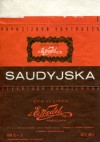 Saudyjska, filled chocolate, 100g, about 1980, E.Wedel, Warszawa, Poland