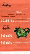 Telesfor, filled chocolate, 45g, about 1970, E.Wedel, Warszawa, Poland