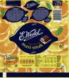 Maxi smak, milk chocolate with lemon orange filling, 100g, 11.09.2012, E.Wedel, Warszawa, Poland