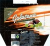 Galasana, filled milk chocolate with marc de champagne truffle filling, 100g, 07.1996
