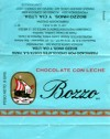 Bozzo, milk chocolate, 8g, 1998, Chocolates Costa S.A., Valparaiso, Chile